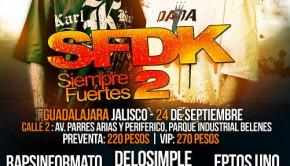 SFDK en Guadalajara, 24 de septiembre