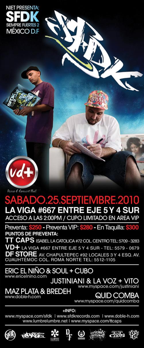 SFDK en México DF, 25 de Septiembre