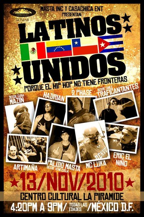Latinos Unidos en Mexico DF