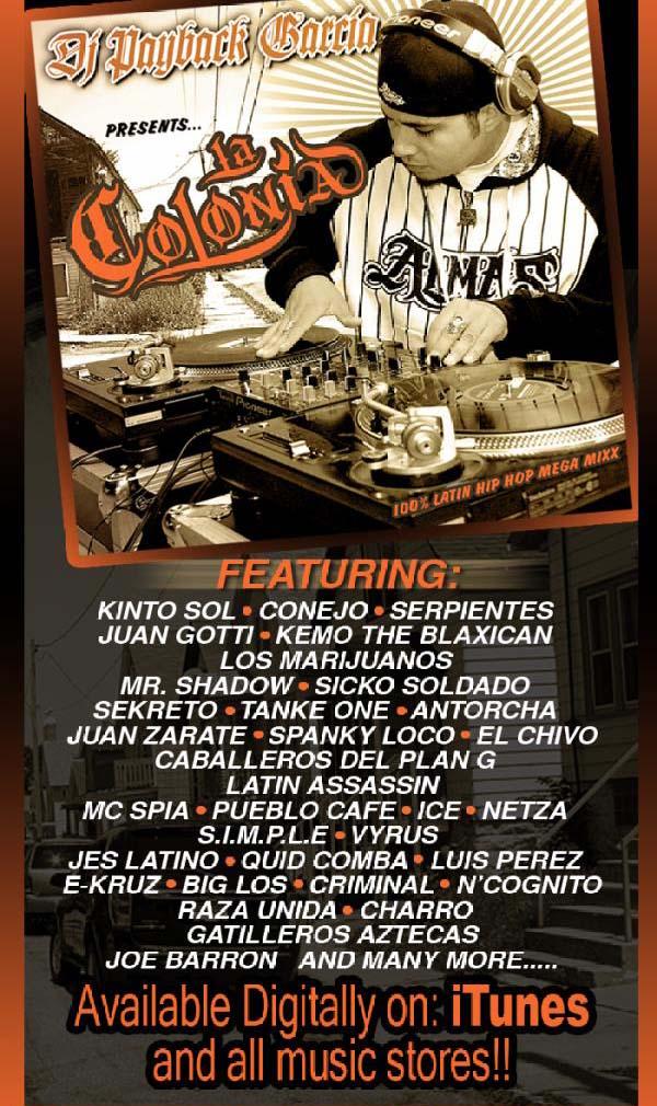 DJ Payback Garcia - La Colonia