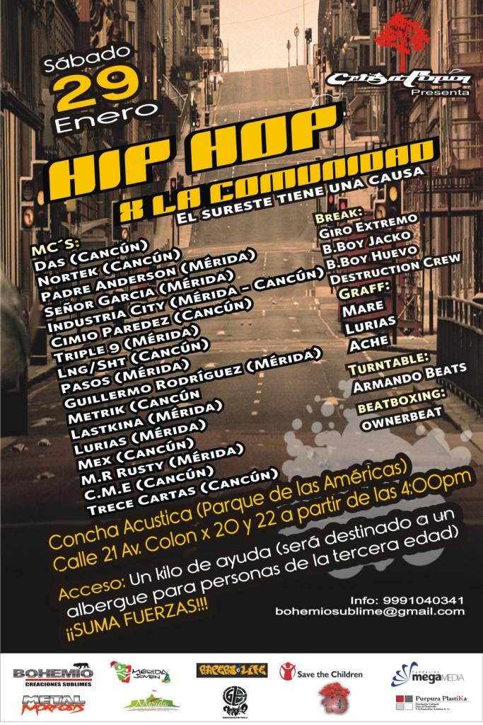 Hip-Hop por la Comunidad
