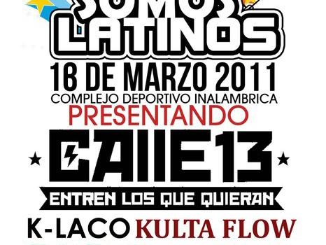 Calle 13 en Merida