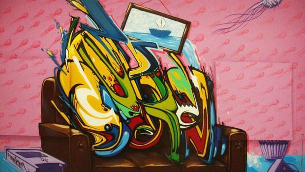 Graffiti de Decken
