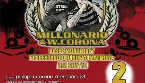 Millonario & W. Corona en Cancun