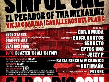 Sinful en Mexico 03 Diciembre 2011