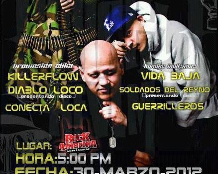 Psycho Realm en Monterrey (30 de Marzo 2012)