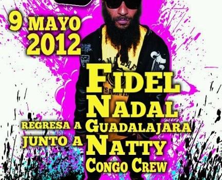 Fidel Nadal en Guadalajara (9 de Mayo 2012)