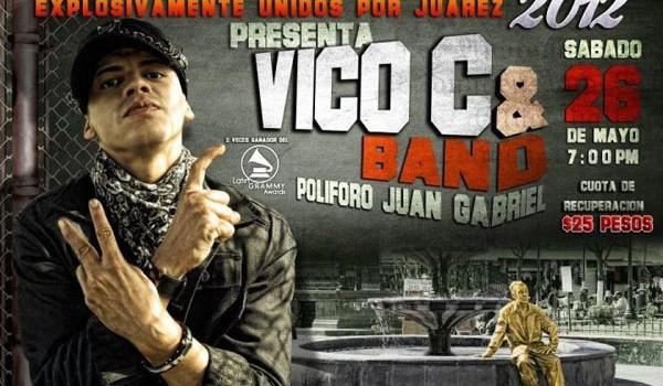 Vico C en Ciudad Juarez (26 de Mayo 2012)