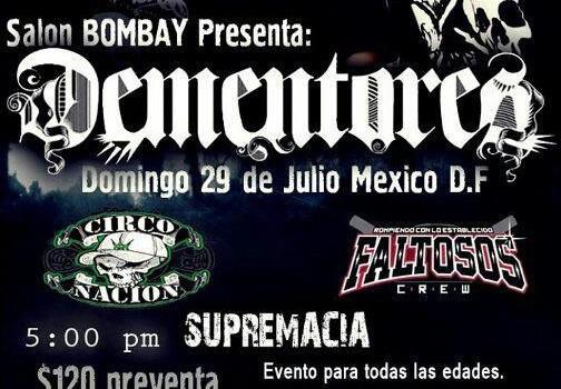 Dementores en Mexico DF (29 de Julio 2012)