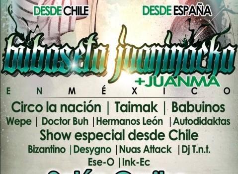 Bubaseta y Juaninacka en México DF