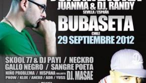 Juaninacka & Bubaseta en Guadalajara (29 de Septiembre 2012)