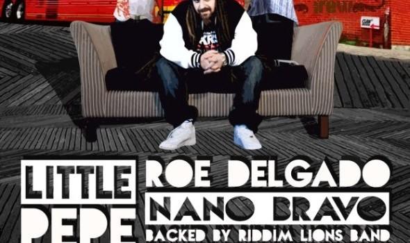 Little Pepe, Roe Delgado, Nano Bravo en Guadalajara (25 de Noviembre 2012)