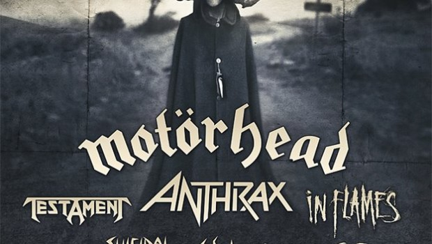 Motor Head, Testament, Anthrax, In Flames en Guadalajara (18 y 19 de Mayo 2013)