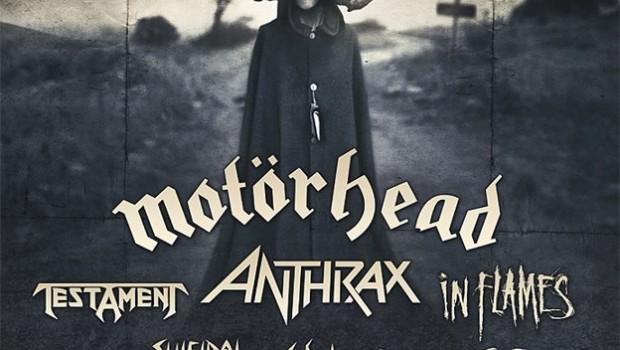 Motor Head, Testament, Anthrax, In Flames en Guadalajara (18 y 19 de Mayo 2013)