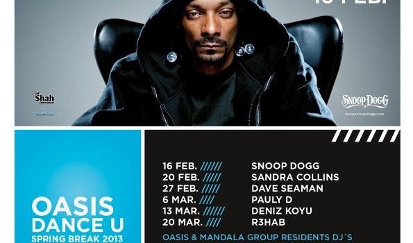 Snoop Dogg en Cancun (16 de Febrero 2013)