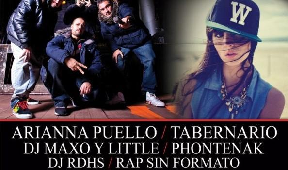 Violadores del Verso, Mala Rodriguez y Ariana Puello en Guadalajara (15 de Marzo 2013)