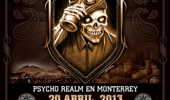 Psycho Realm en Monterrey (20 de Abril 2013)