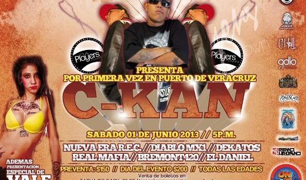 C-Kan en Veracruz (1 de Junio 2013)