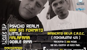 Psycho Realm en Guadalajara (19 de Abril 2013)