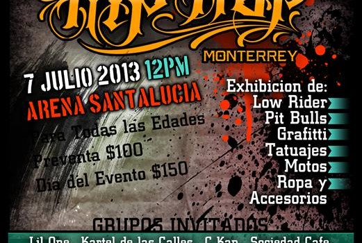 Expo Hip-Hop en Monterrey