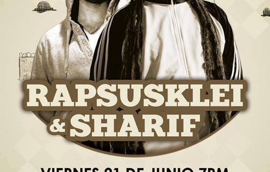 Rapsusklei y Sharif en Monterrey (21 de Junio 2013)