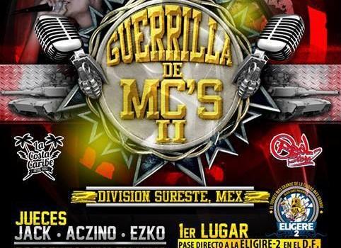 Guerrilla de MCs II en Cancun