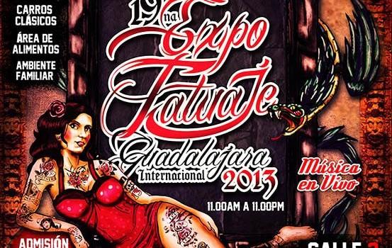Expo Tatuaje en Guadalajara (30 y 31 de Agosto 2013)