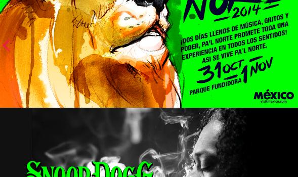 Snoop Dogg en Monterrey 1 de Noviembre