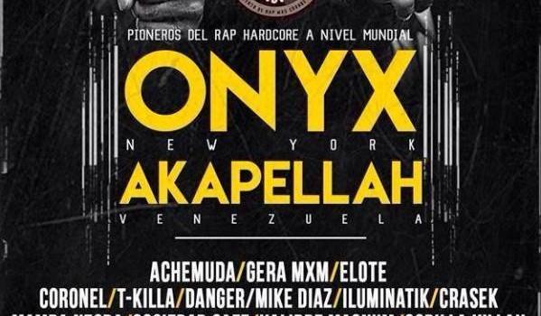 Onyx en Aguascalientes HipHop vs Drugs 5
