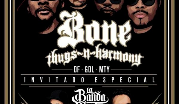 Bone Thugs en Mexico 2015