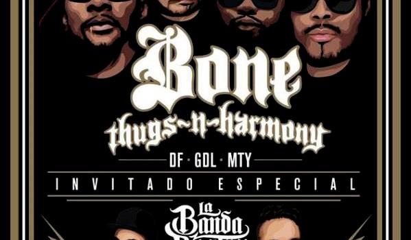Bone Thugs en Mexico 2015