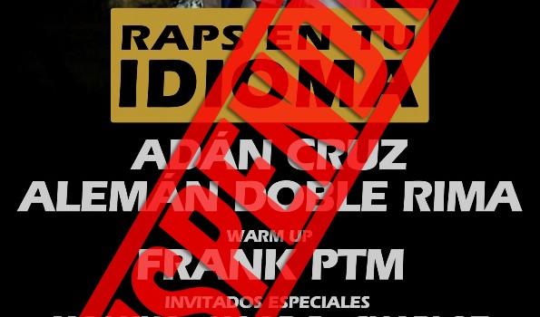 Raps En Tu Idioma Flyer