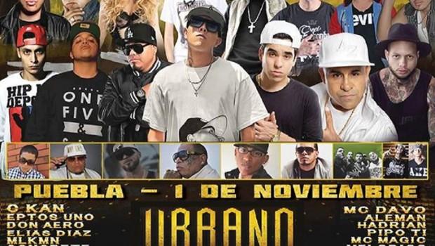 Urbano Fest 3 en Puebla