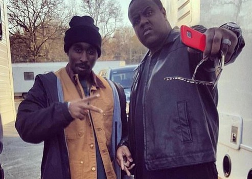 Tupac rodaje All Eyez On Me