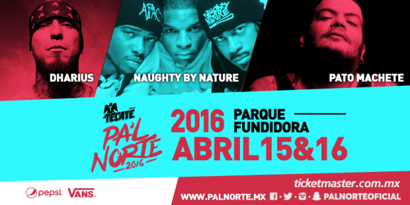 Naughty By Nature en Monterrey (14 y 15 de abril 2016)