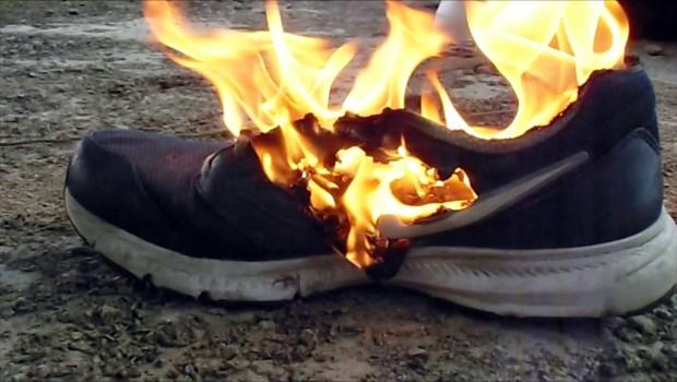 Nike Burning