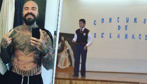 Gana concurso de poesía con letra de Leve de Cartel de Santa